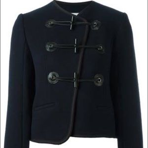CARVEN TOGGLE JACKET IN MIDNIGHT BLUE